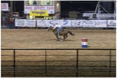 Barrel racing is one of my favorite events.