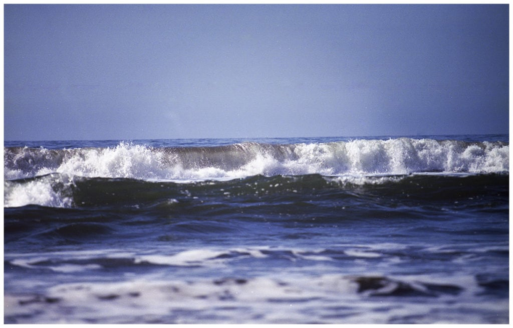 Film photos, Stinson Beach, California.