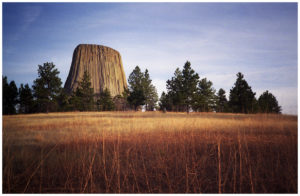 Devils Tower, Wyoming color film photos