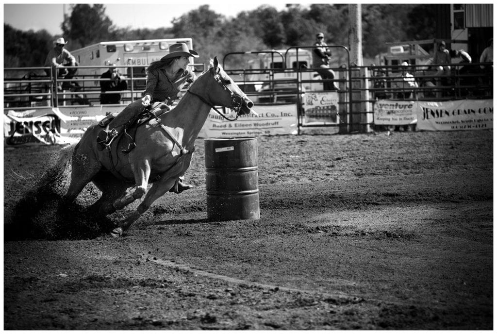Wessington Springs, South Dakota Rodeo