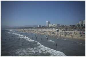 Santa Monica and Venice Beach, California