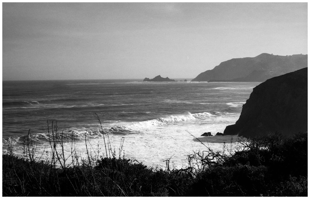 Film photos from Pacifica, California