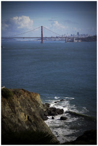 Marin Headlands, Golden Gate Bridge