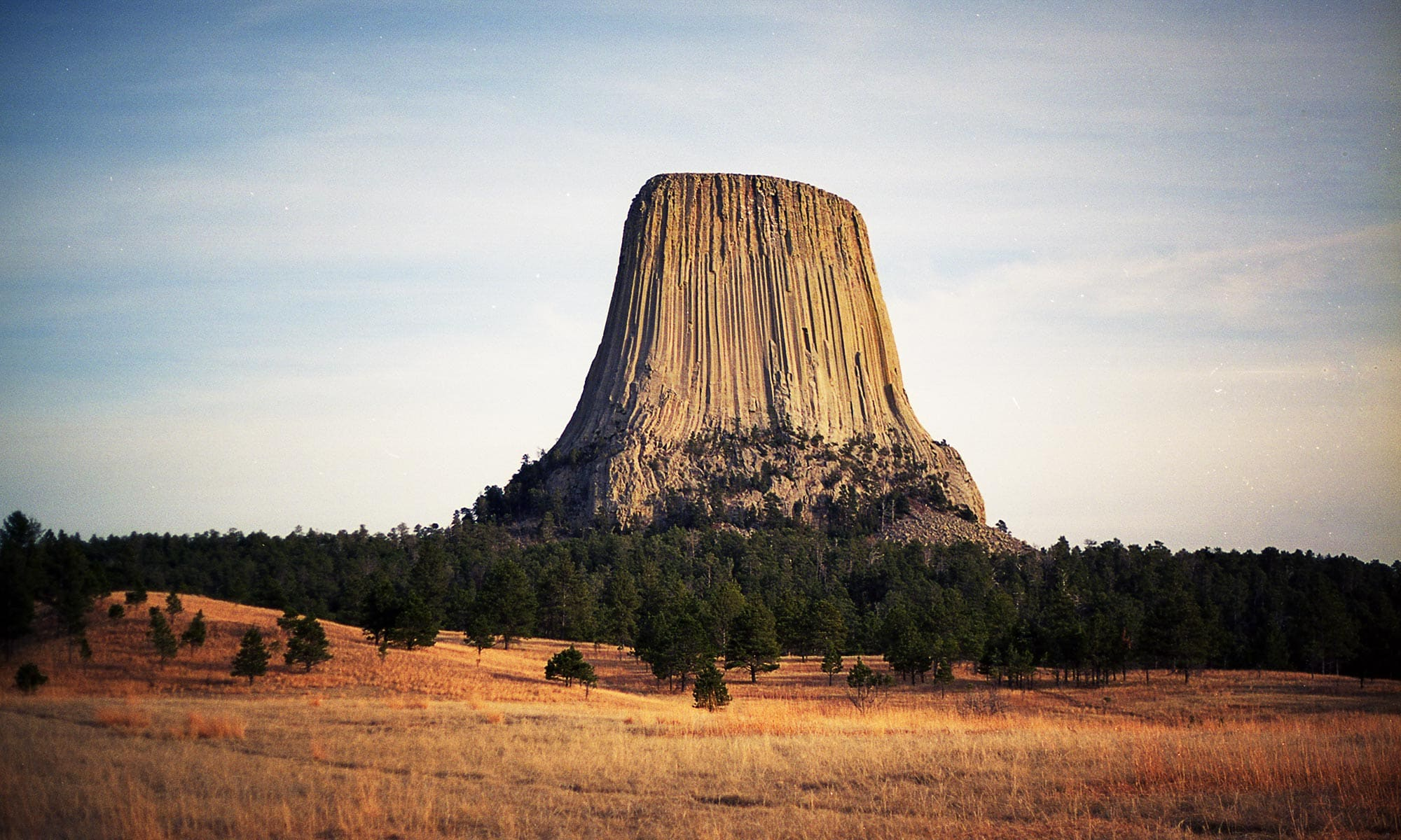 Devils Tower Wyoming- Canon A2